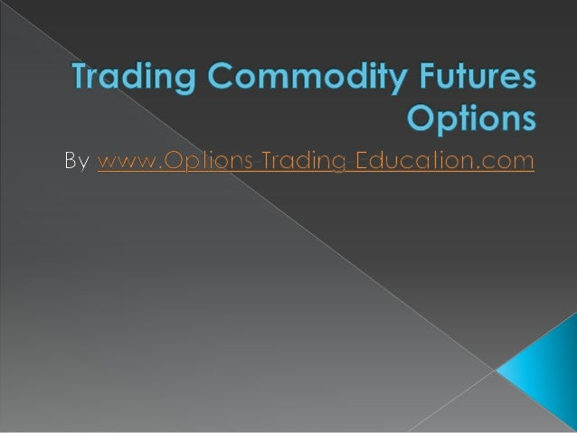Commodity options trading books