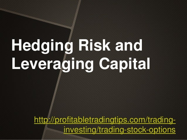 Stock options trading risks