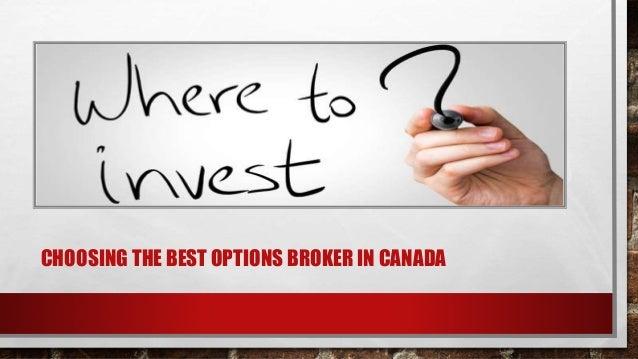 Best options brokers in canada