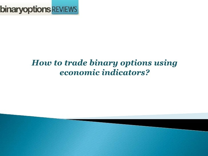 How to trade news releases binary options