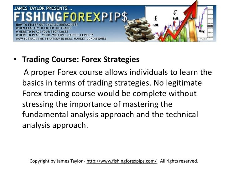 Technical analysis forex course