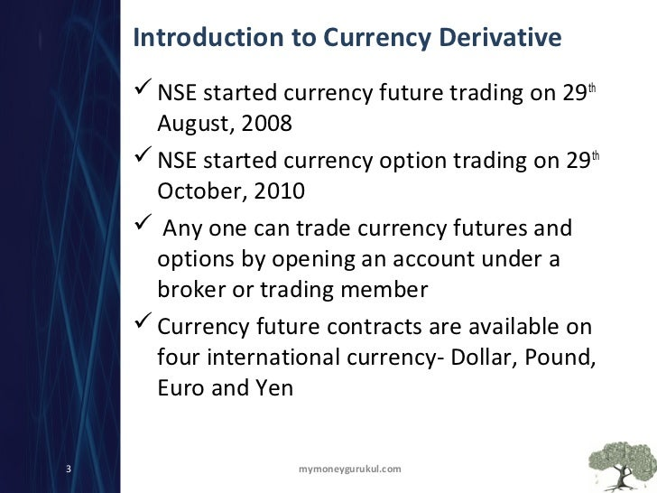 Nse currency options trading 4 you