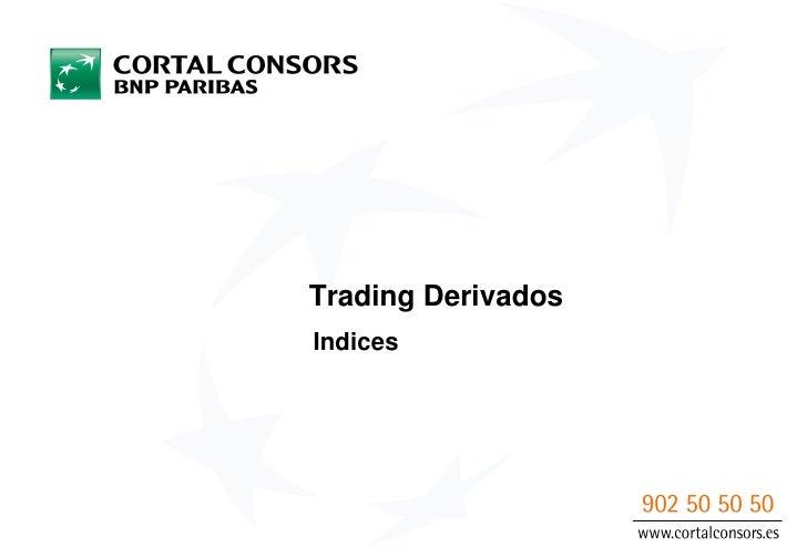 Trading DerivadosIndices