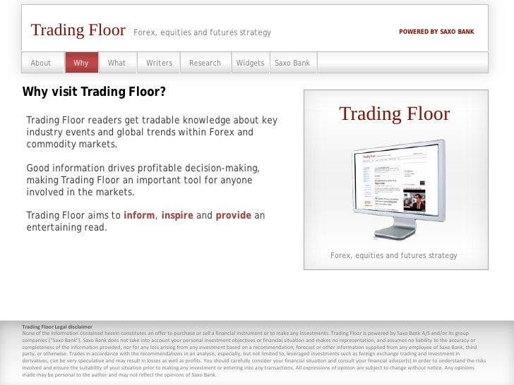 Forex trading floors ltd