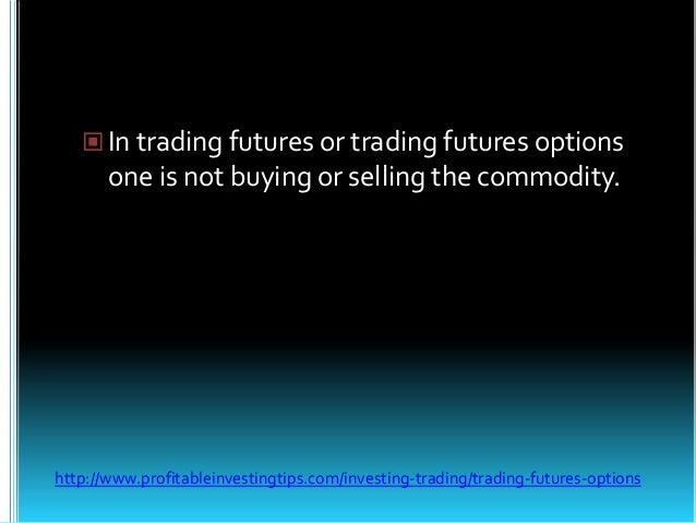 Share trading future option