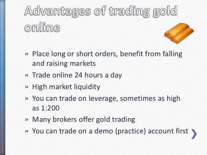 How to choose a broker for trading gold online? Slide 2
