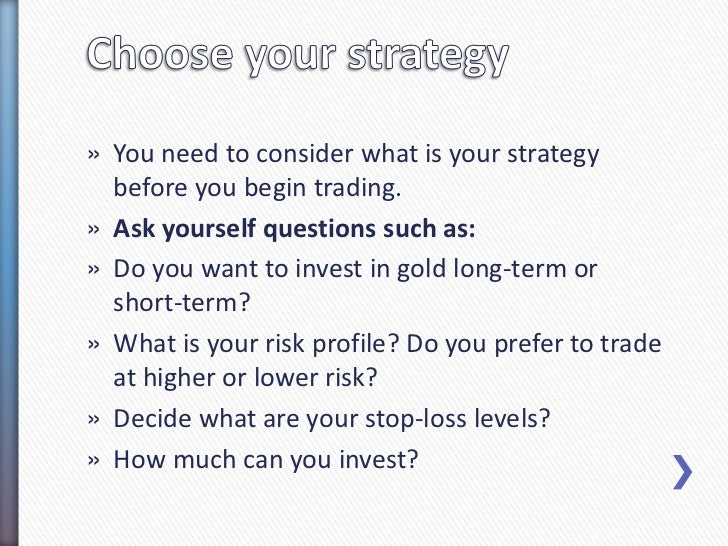 How to choose a broker for trading gold online? Slide 3