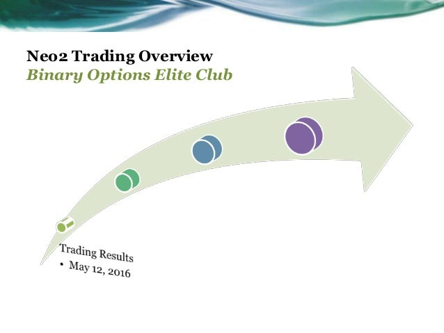 Binary options elite club