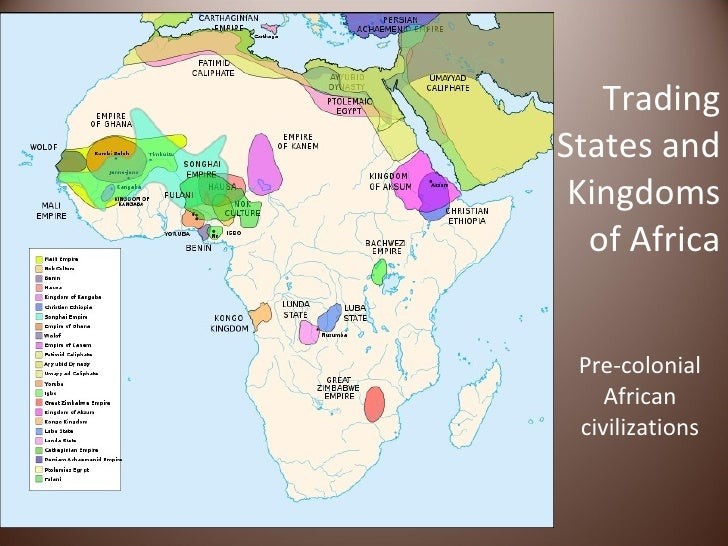 African trading states and kingdoms 4 trading states and kingdoms of africa sciox Images