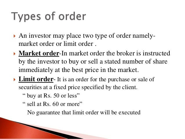 Trading system in stock exchange pdf