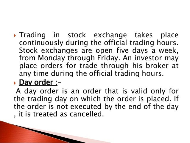 Nyse trading system