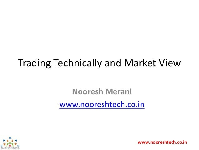 www.nooreshtech.co.in Trading Technically and Market View Nooresh Merani www.nooreshtech.co.in