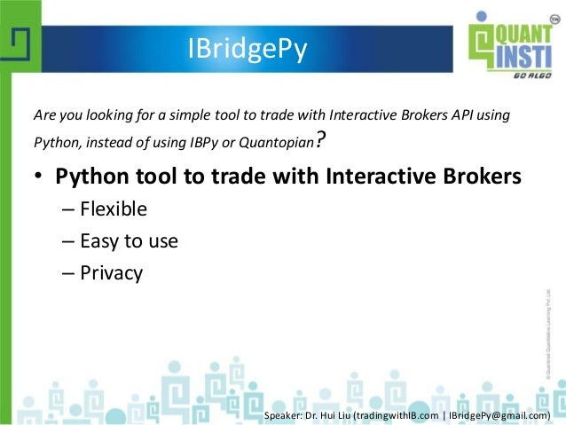 interactive brokers python