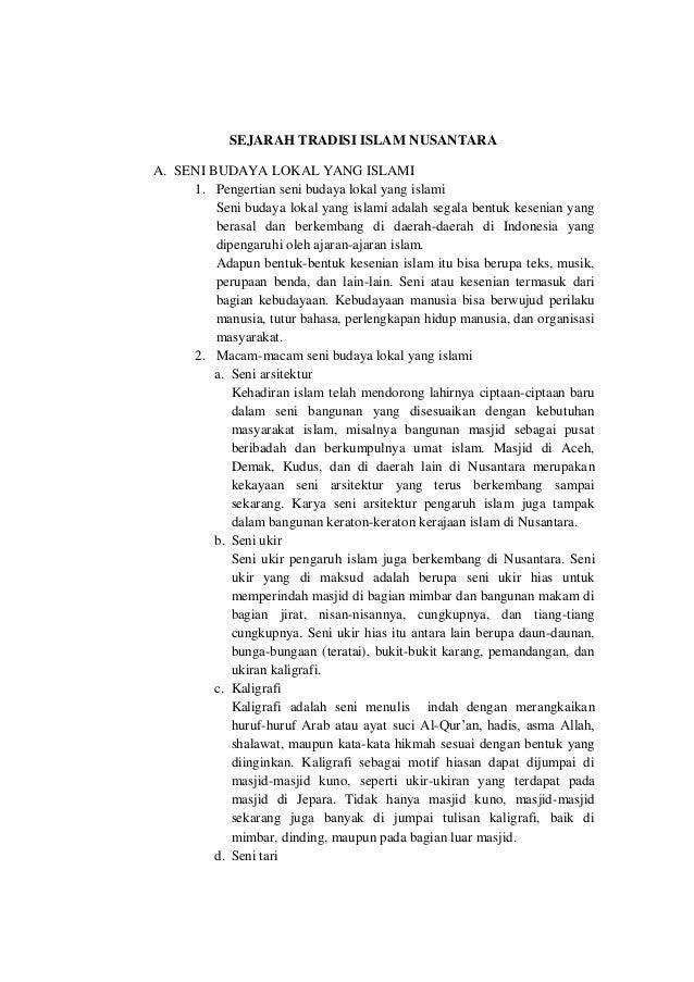 Tradisi Islam Nusantara