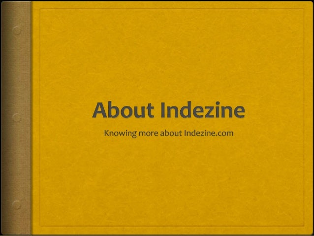 About Indezine.com  Discusses and debates PowerPoint and presenting stuff  Sample presentations and templates  Blog and...