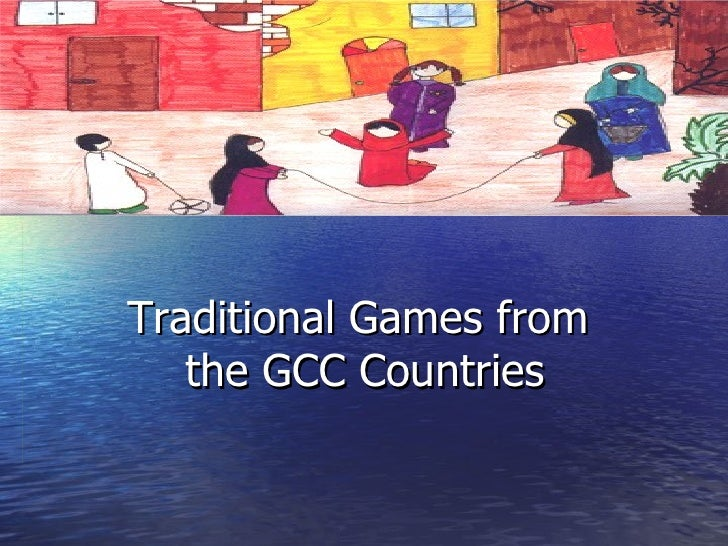 Traditional Games from  the GCC Countries