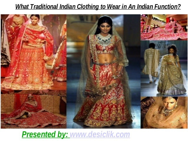 Traditional Indian Clothing