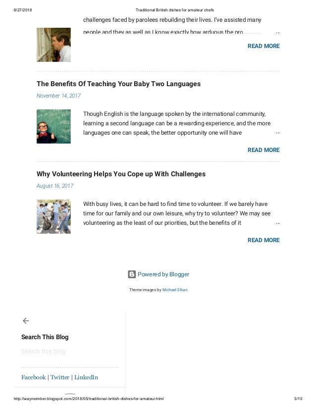 Amateur blogspot page