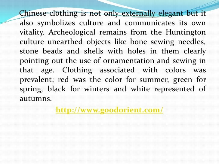 Traditional Chinese Clothing
