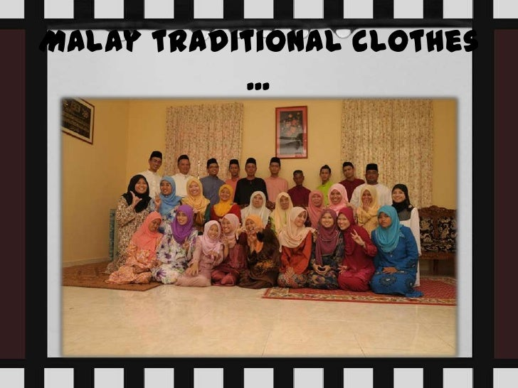 Traditional clothes of malaysia Slide 2
