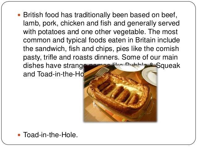 Traditional english food Slide 3