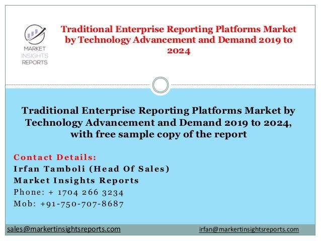 Contact Details: Irfan Tamboli (Head Of Sales) Market Insights Reports Phone: + 1704 266 3234 Mob: +91-750-707-8687 Tradit...