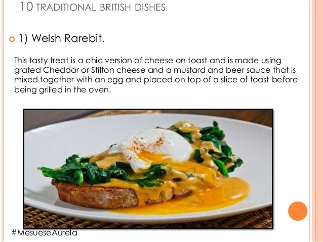 """""""Traditional Food in england."""" Slide 3"""