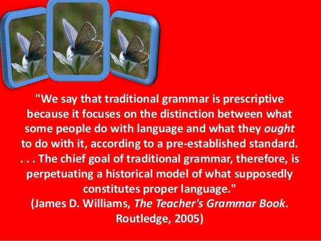 the teacher s grammar book williams james d