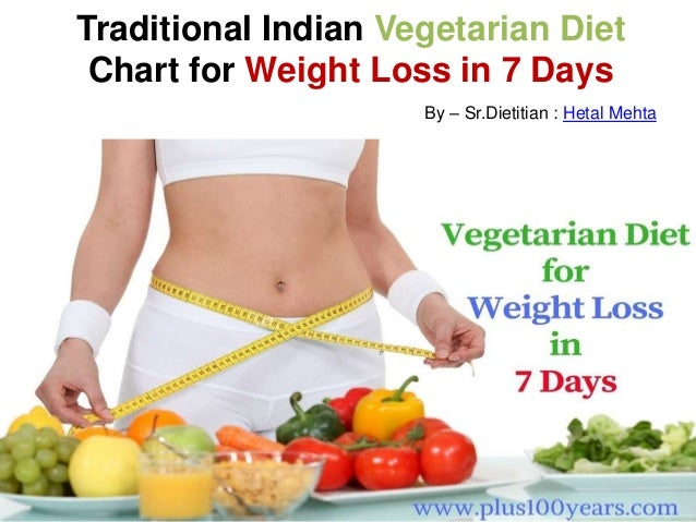 How to lose weight in 7 days naturally - Vegetarian Diet