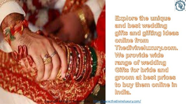 Wedding Gift India Online: Traditional Indian Wedding Gifts Do You Give Gifts At Wedding