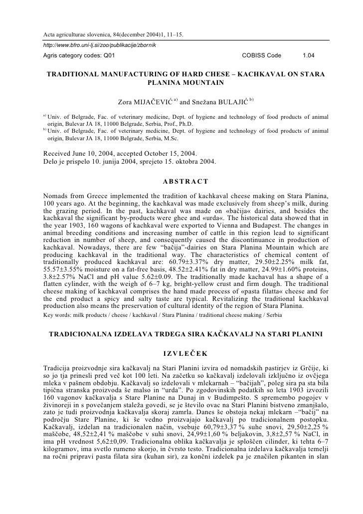 Acta agriculturae slovenica, 84(december 2004)1, 11–15.http://www.bfro.uni-lj.si/zoo/publikacije/zbornikAgris category cod...