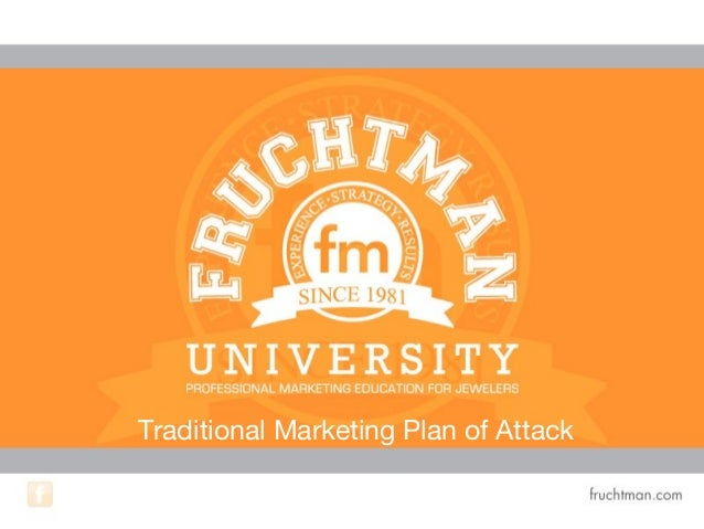 Traditional Marketing Plan of Attack