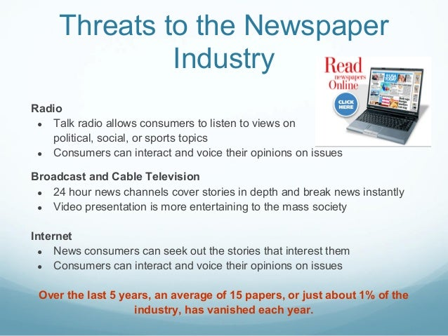 What are the biggest issues facing the media industry?