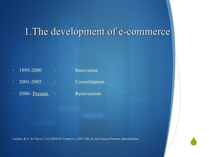 Impact of e-Commerce