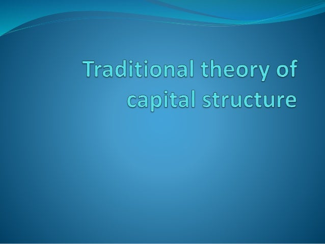  Capital structure of a company refers to the composition or make-up of its capitalization and it includes all long term ...