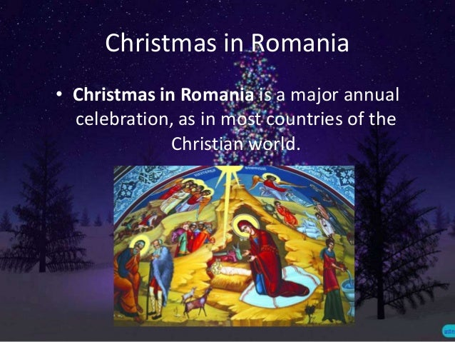 Traditions and customs for christmas in romania