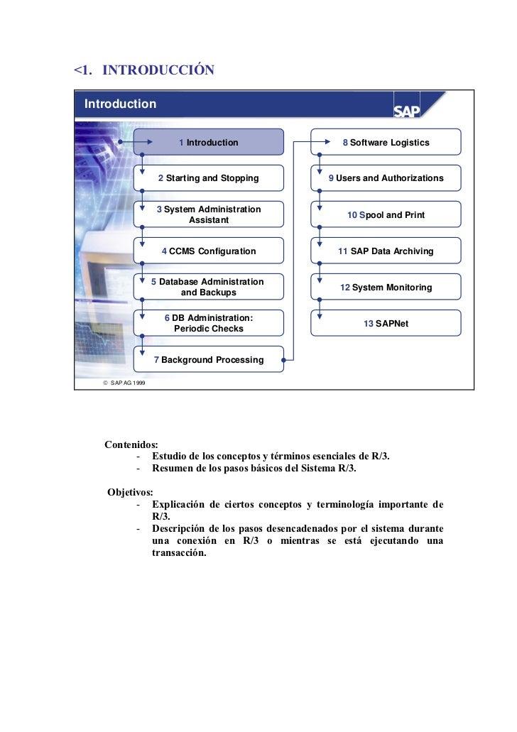 <1. INTRODUCCIÓN Introduction                          1 Introduction               8 Software Logistics                  ...