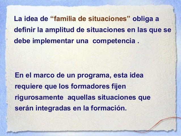 En la enseñanza post-secundaria, se podrían seleccionar las siguientes competencias: Implementar situaciones de aprendizaj...