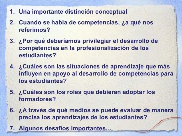 Dos ideas esenciales En una perspectiva de aprendizaje: la trayectoria en la formación y en la profesionalización En una p...