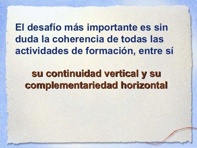 En un programa por competencias, la lógica videográfica que es característica de la evaluación de las competencias impone ...