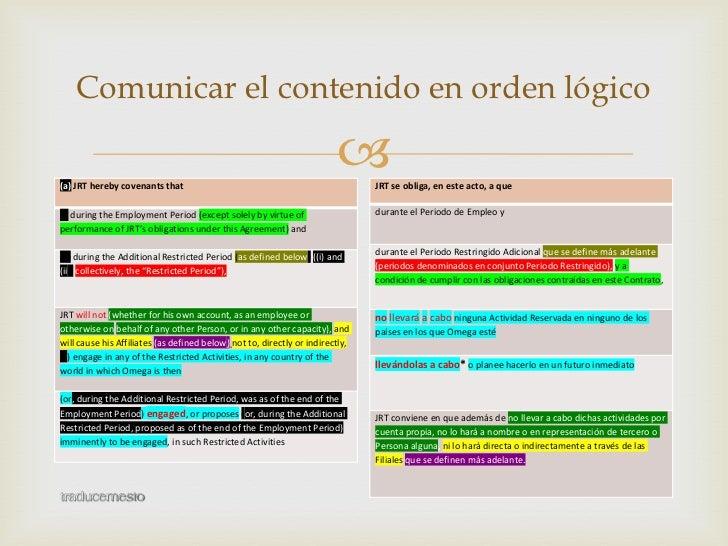 Traducir un texto legal difícil