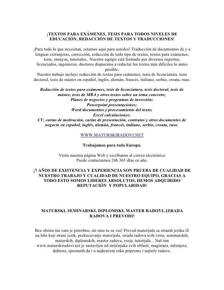 Traductores excelentes traducen para inglés francés  serbio alemán  italiano y ruso Slide 2