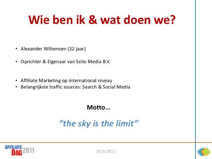 Traffic 3.0 - Alexander Willemsen (Scito Media) Slide 2