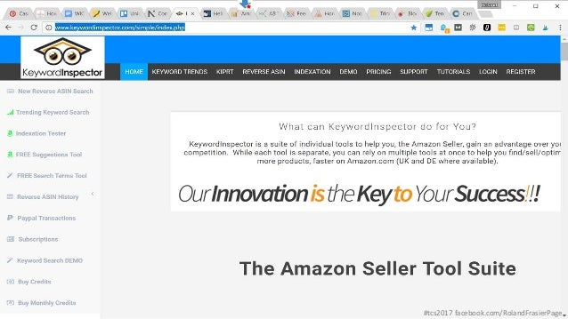 TCS: Ecommerce Tools - Ecommerce Marketing Tools + Amazon Tools