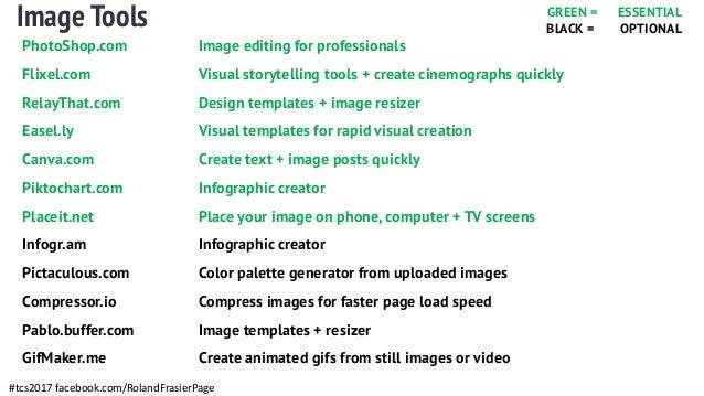 TCS: Video Marketing Tools + Image Tools