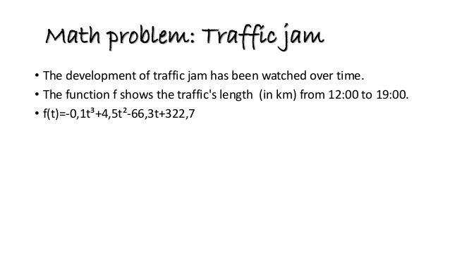 Traffic congestion2 Slide 2