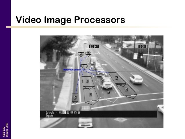 Traffic Transportation Engineering : Traffic detection systems transportation engineering