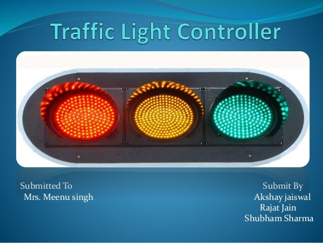Traffic light controller Research paper Example - September