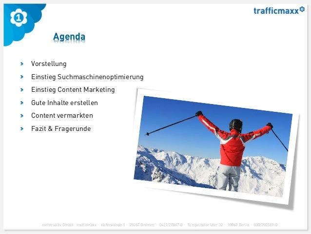 trafficmaxx - Content Marketing Workshop - Medienforum Mittweida 2013 Slide 2