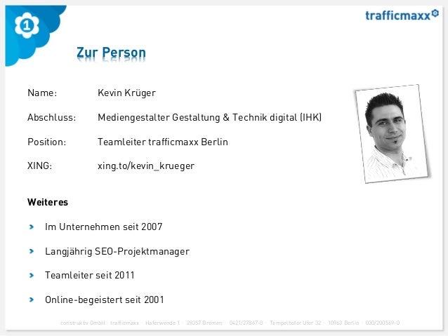 trafficmaxx - Content Marketing Workshop - Medienforum Mittweida 2013 Slide 3